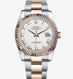 Replica Rolex Datejust Watch : Everose Rolesor - kombinationen av 904L stål och 18 karat Everose guld - M116231 - 0092