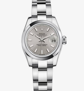Replica Rolex Lady - Datejust Watch : 904L stål - M179160 - 0023