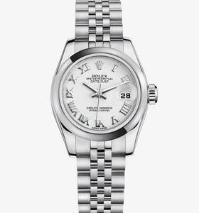 Replica Rolex Lady - Datejust Watch : 904L stål - M179160 - 0041